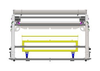 Advance Efficient Fabric Folding Machine