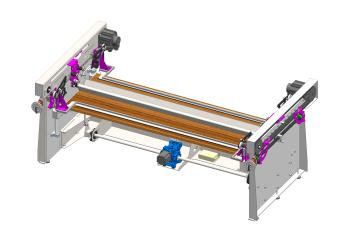 Advance Efficient Fabric Folding Machine